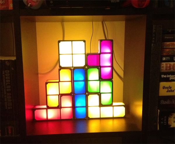 Настольная лампа Tetris Constructible