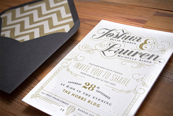 Barber Wedding Invitations By Sergey Grigoryan