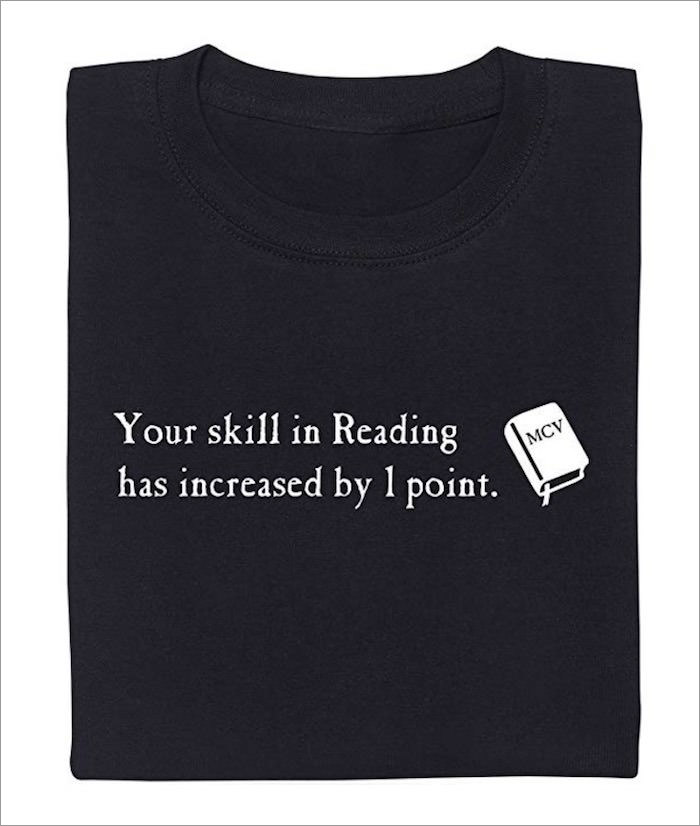 your-skill-in-reading-t-shirt