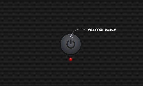 кнопка нажата