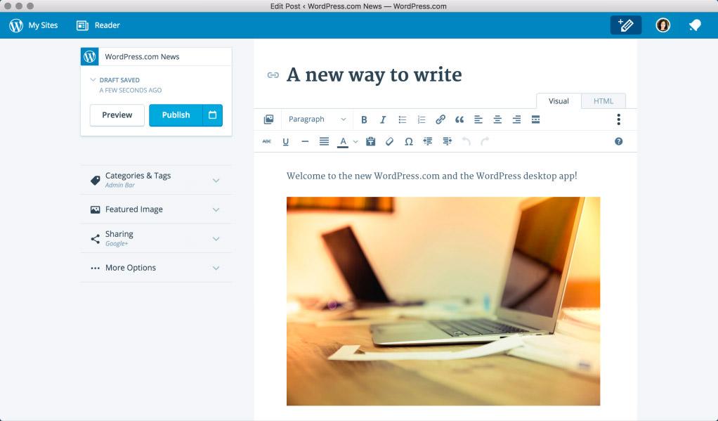 WordPress.com Desktop App