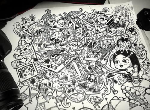 Photographer's Doodle