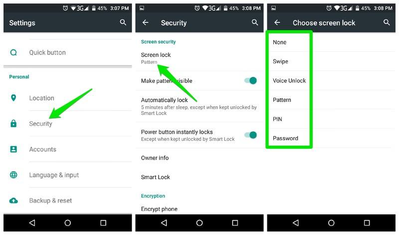 add security lock