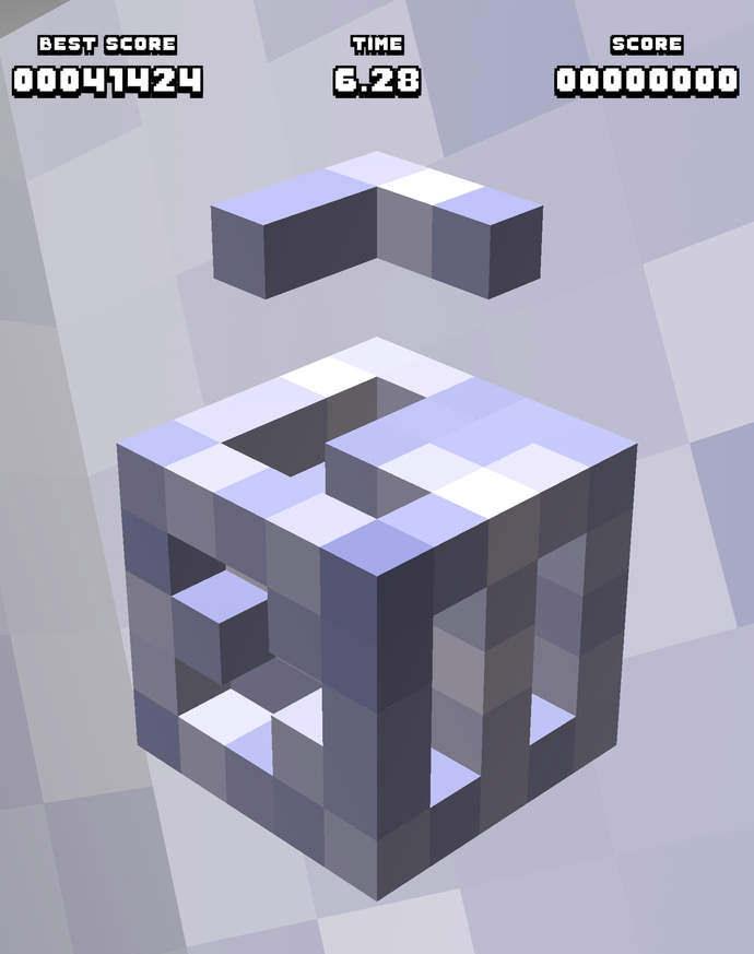 КЛЮЧ - 3D кубическая головоломка