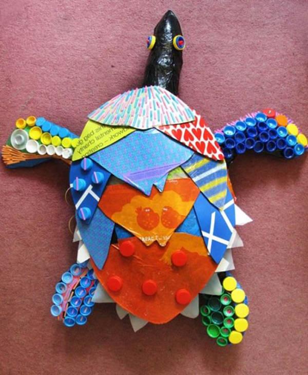 морские черепахи-скульптуры