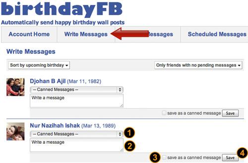 How To Schedule Facebook Birthday Greetings In Advance Quicktip Hongkiat