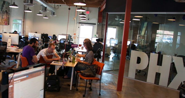 cohoots website interface office coworking space