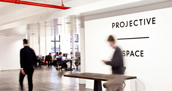 projective space coworking office space photo