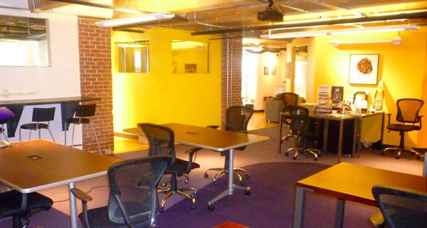Workbar coworking space boston massachusetts photograph