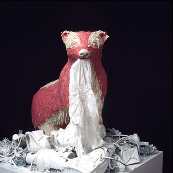 скульптура жевательной резинки