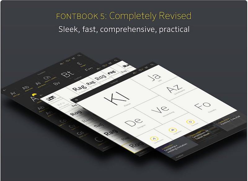FontBook-ipad-app