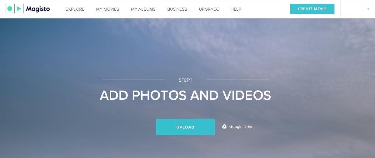 Create videos using photos on Magisto