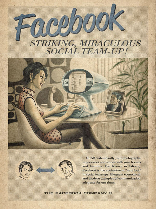 Vintage Advertisement of Modern Technology 1
