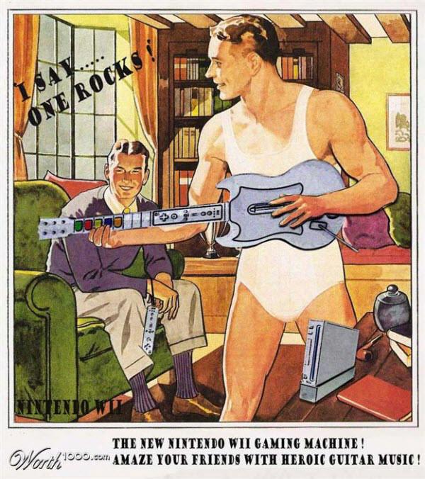 Nintendo Wii & Guitar Hero