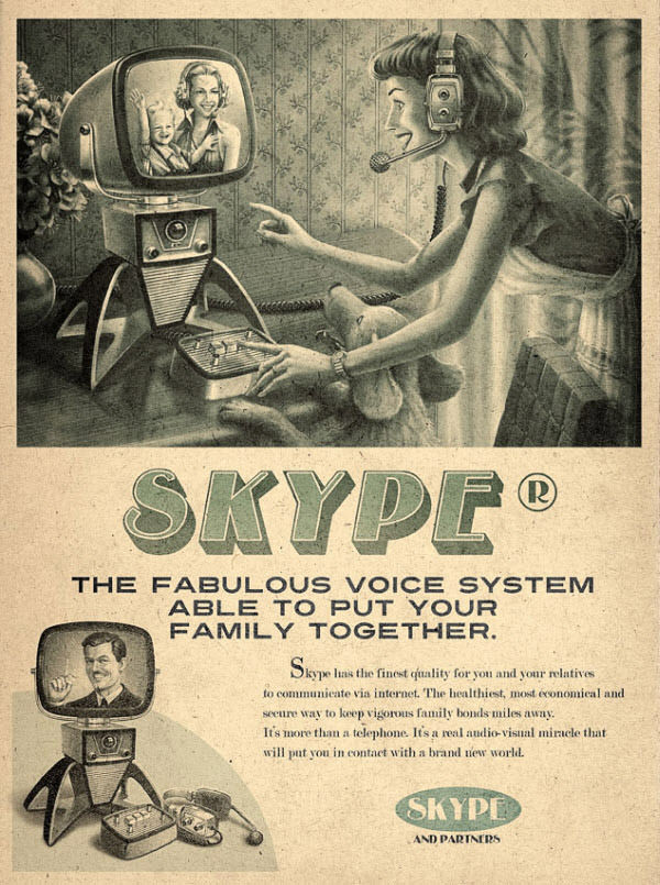 Vintage Advertisement of Modern Technology 3