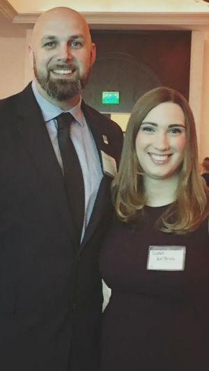 Sarah McBride; Ryan Rowe; Fair Wisconsin 2017 Gala