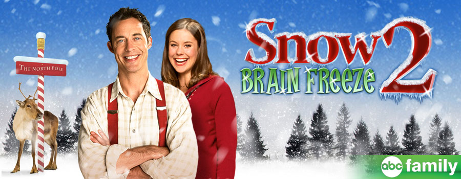 snow 2 brain freeze again i cant rank sequels that high vs cool original fare - Abc Family Original Christmas Movies
