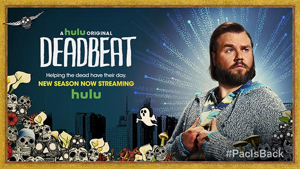 Deadbeat S2 Hulu