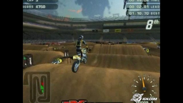 MX Unleashed MX Unleashed PlayStation 2 Gameplay200402254 IGN Video