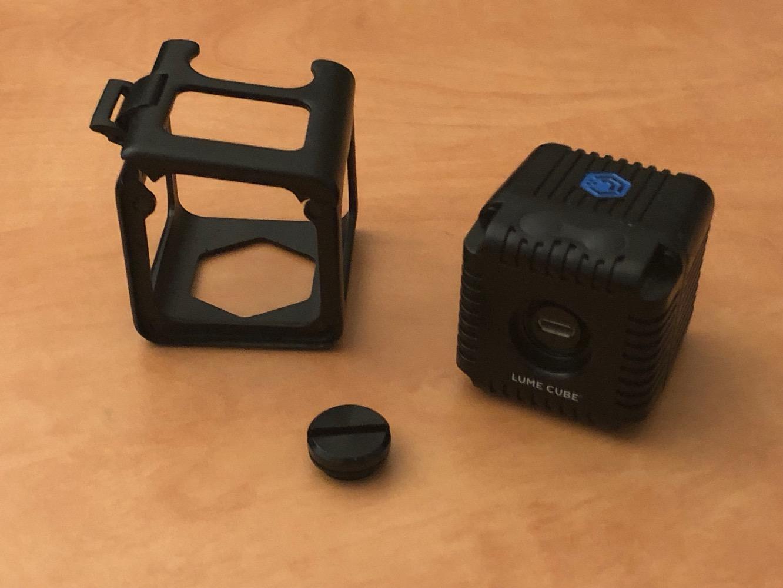 lume cube creative lighting kit for iphone