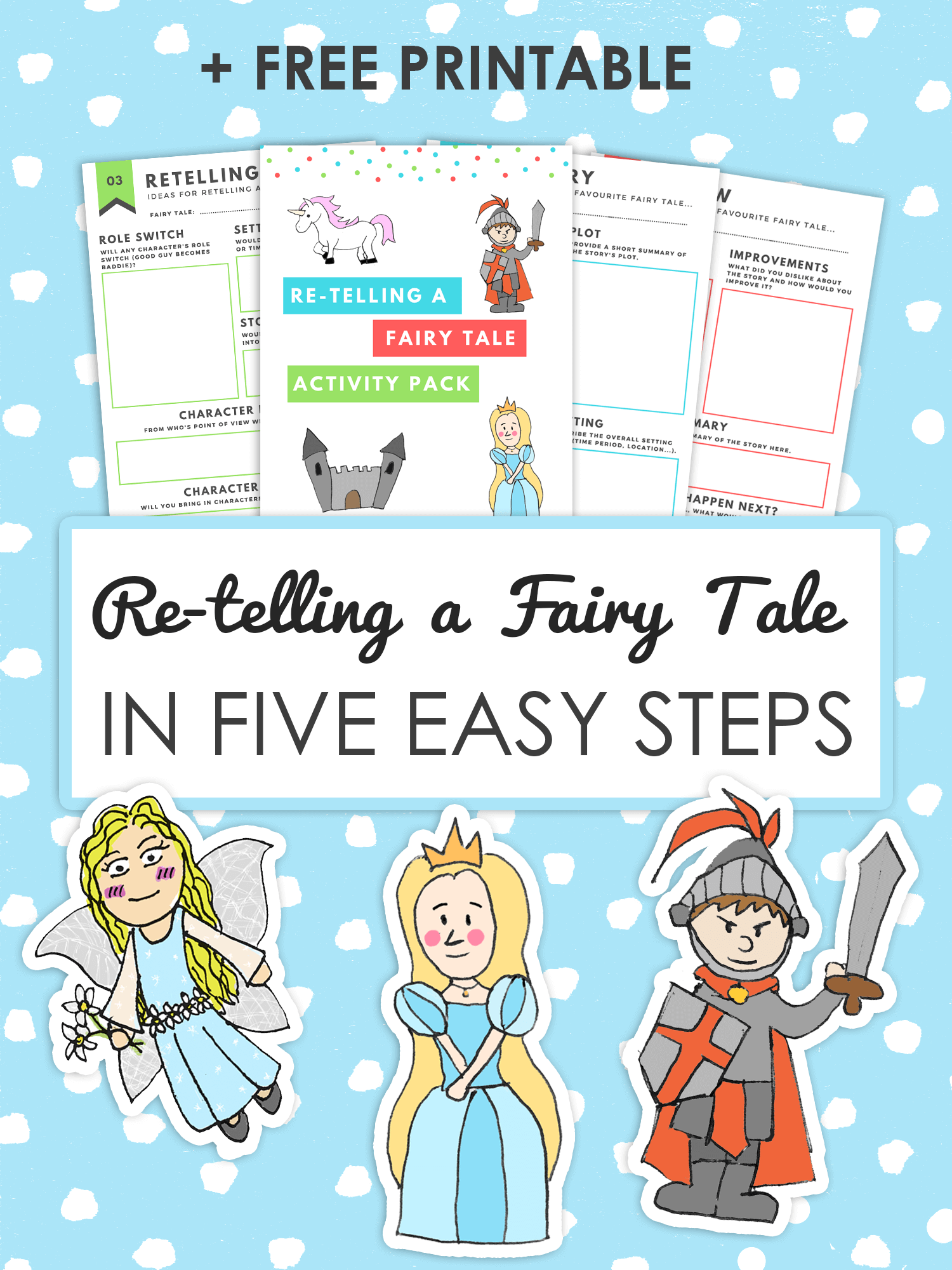 How To Retell A Fairy Tale In 5 Easy Steps