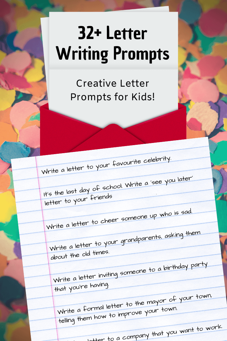 32 letter writing prompts letter