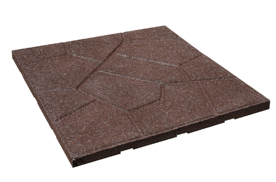 flagstone rubber pavers