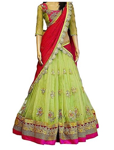 India Desire : Buy Gowns For Women Party Wear (Lehenga Choli ) From Rs. 99 At Amazon [upto 90% Off]