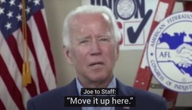 Proof Biden Uses Teleprompter To Answer Questions In Epic New Trump Ad