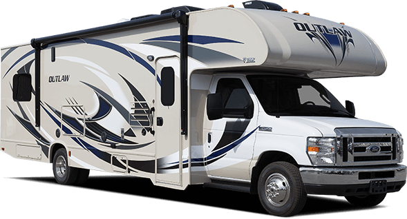 Thor Outlaw Class C Motorhome Toy Hauler