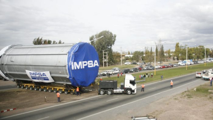IMPSA already received government assistance at the end of last year.