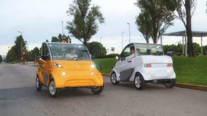 Sero Electric, otro auto de producción nacional.