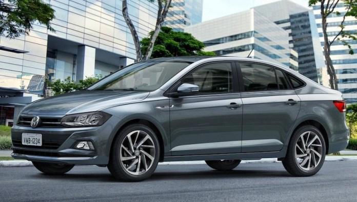 Volkswagen Virtus, el sedán chico de la marca alemana más moderno.