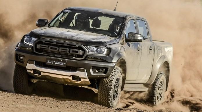 Ford Ranger Raptor, la más extrema de las Ranger.