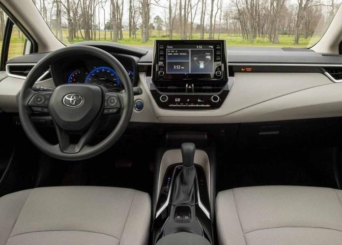 Toyota Corolla, así es por dentro.