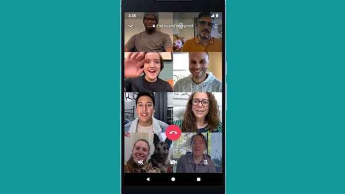 WhatsApp amplió en 2020 su servicio de videoconferencias.