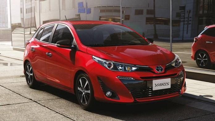 Toyota Yaris, un nuevo modelo entre los 10 más vendidos.
