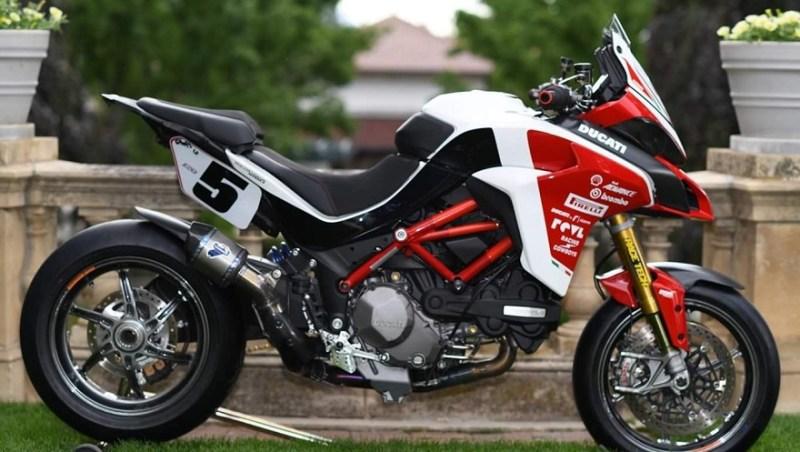 Una versión de la Ducati más cara de la marca.