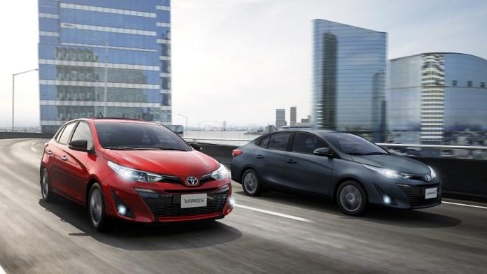 Toyota Yaris, el mediano líder en ventas.