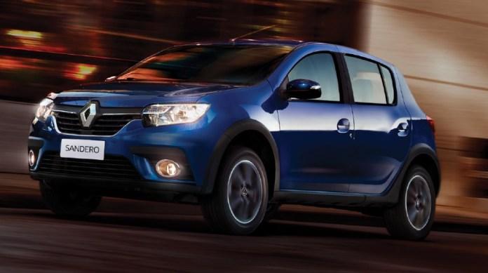 Renault Sandero, una de las opciones más accesibles del mercado.