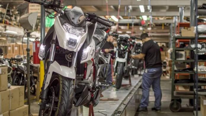 Crece el uso de motos de mayor cilindrada.