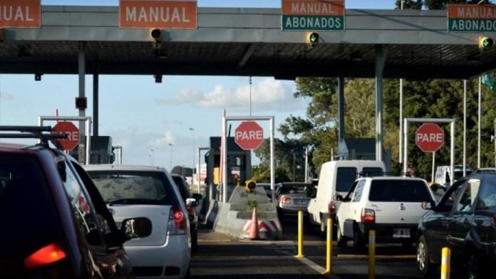 Si el monto se actualiza, el costo de peajes para ida y vuelta a la Costa Atlántica estará cerca de los $1.000