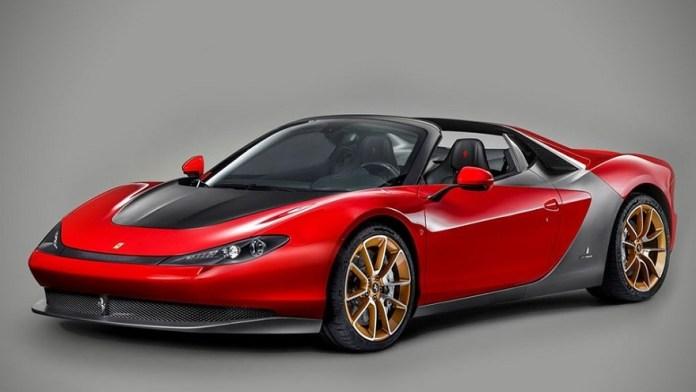 Un modelo exclusivo de Ferrari, uno de los autos más caros del mundo.