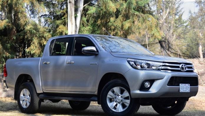 Toyota Hilux en una de sus ediciones anteriores.