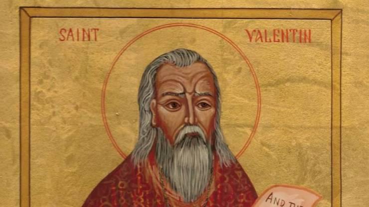 San Valentín fue un sacerdote que vivió durante el imperio de Claudio III