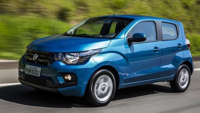 Fiat Mobi, el más barato importado de Brasil.