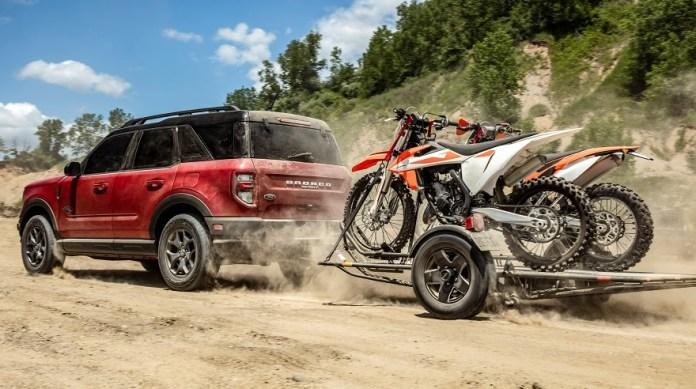 Ford Bronco, para todo tipo de carga.