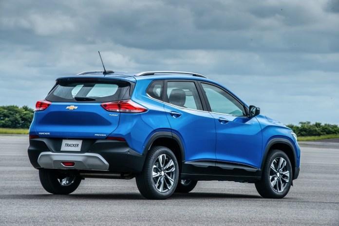 Chevrolet Tracker, la SUV con motor más eficiente en consumo y con WiFi de serie