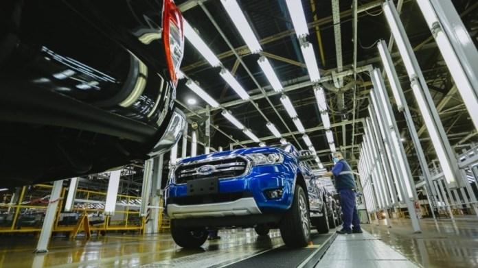 Marcas de autos argentinos: Ford Ranger, producida en Pacheco.