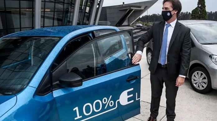 Uruguay fue elegido para probar los nuevos Up! eléctricos.